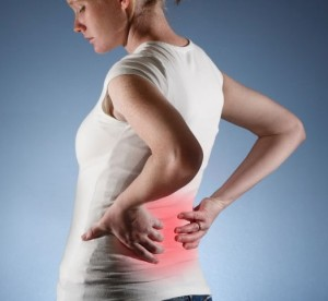 Dor muscular nas costas