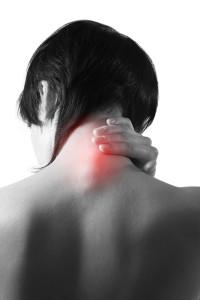 Dor muscular no pescoço