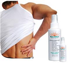 Spray para as dores muscularesSpray para as dores musculares