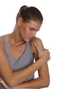 Dor muscular nos braços