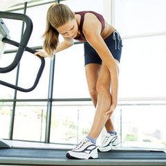 Dores musculares depois de exercício físico na academia